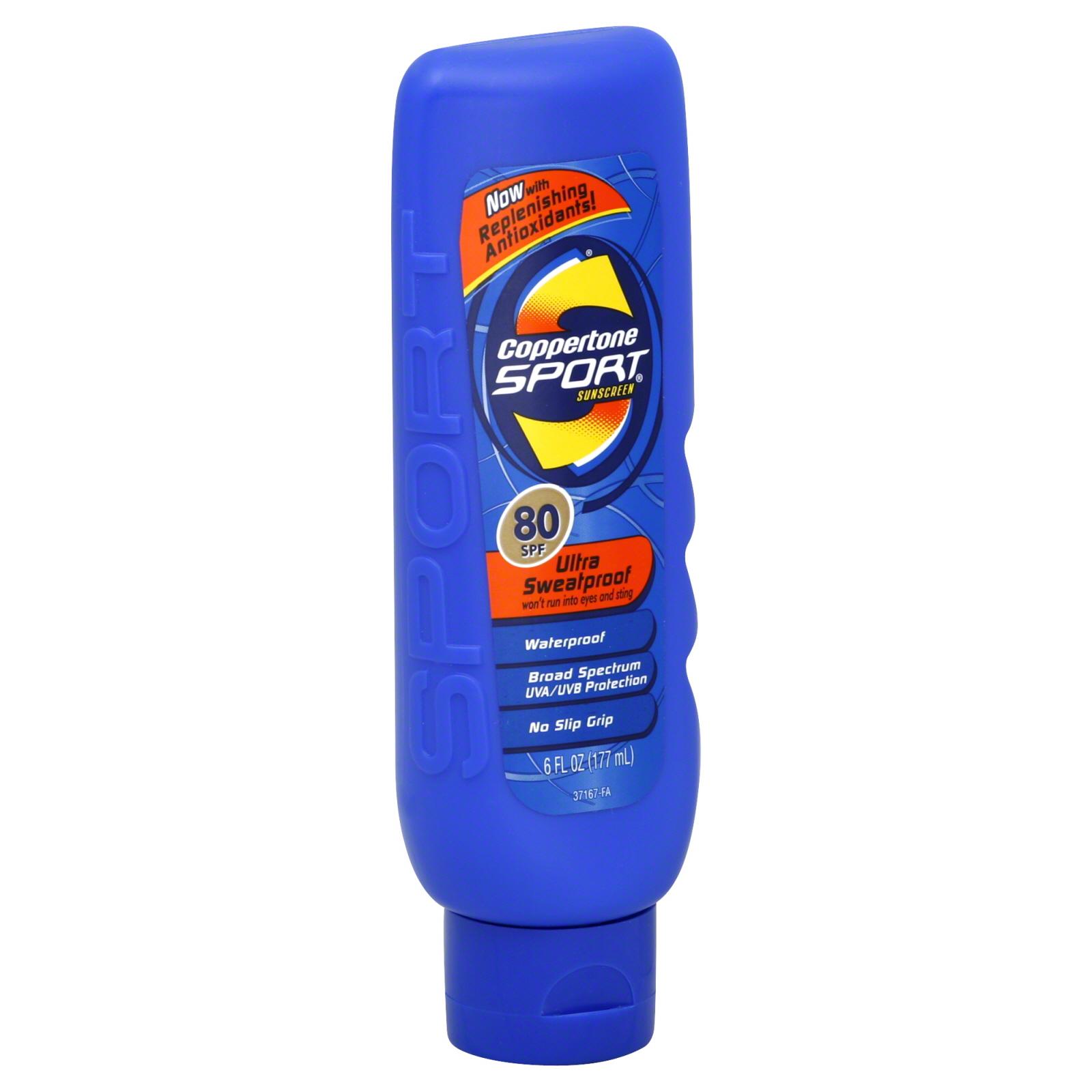 Coppertone Sport Sunscreen Spf 70 6 Fl Oz 177 Ml