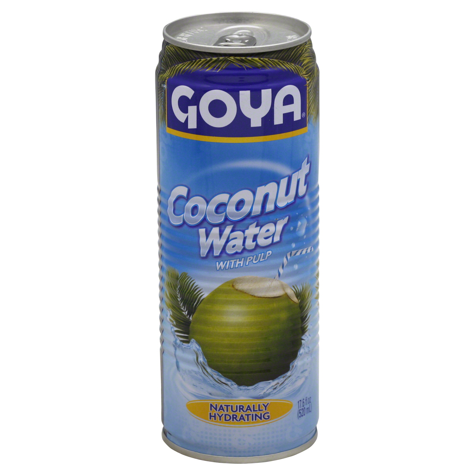 Goya Juice Coconut Water 17.6 Fl Oz 520 Ml - Food