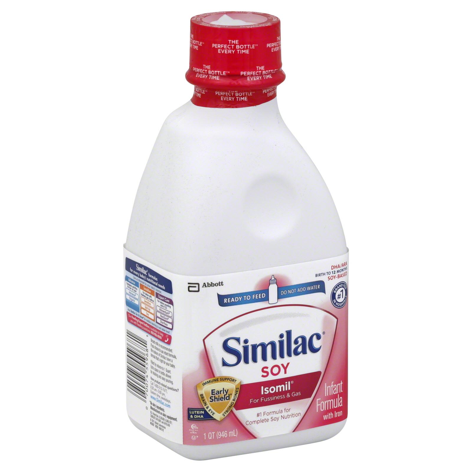 Similac Soy Ready to Feed Formula