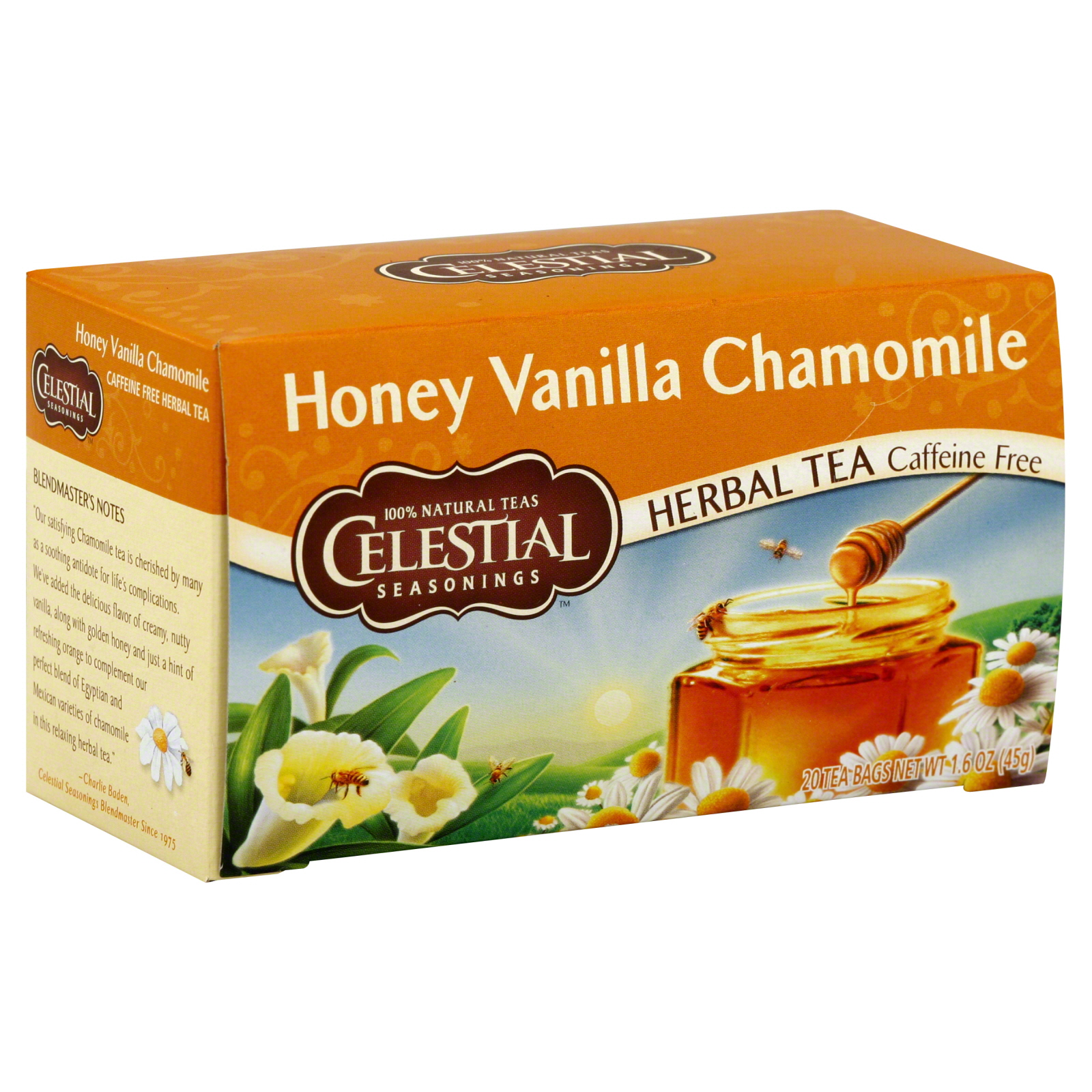 Lipton Herbal Tea Honey Lemon Tea Bags 20