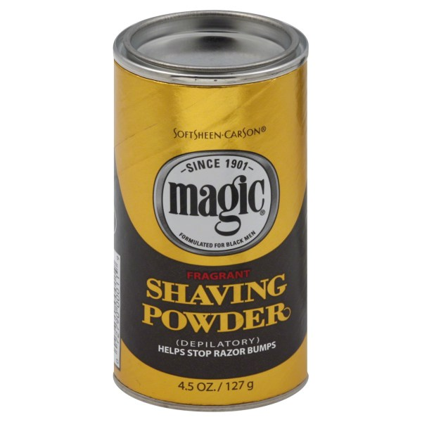 Black Magic Shaving Powder