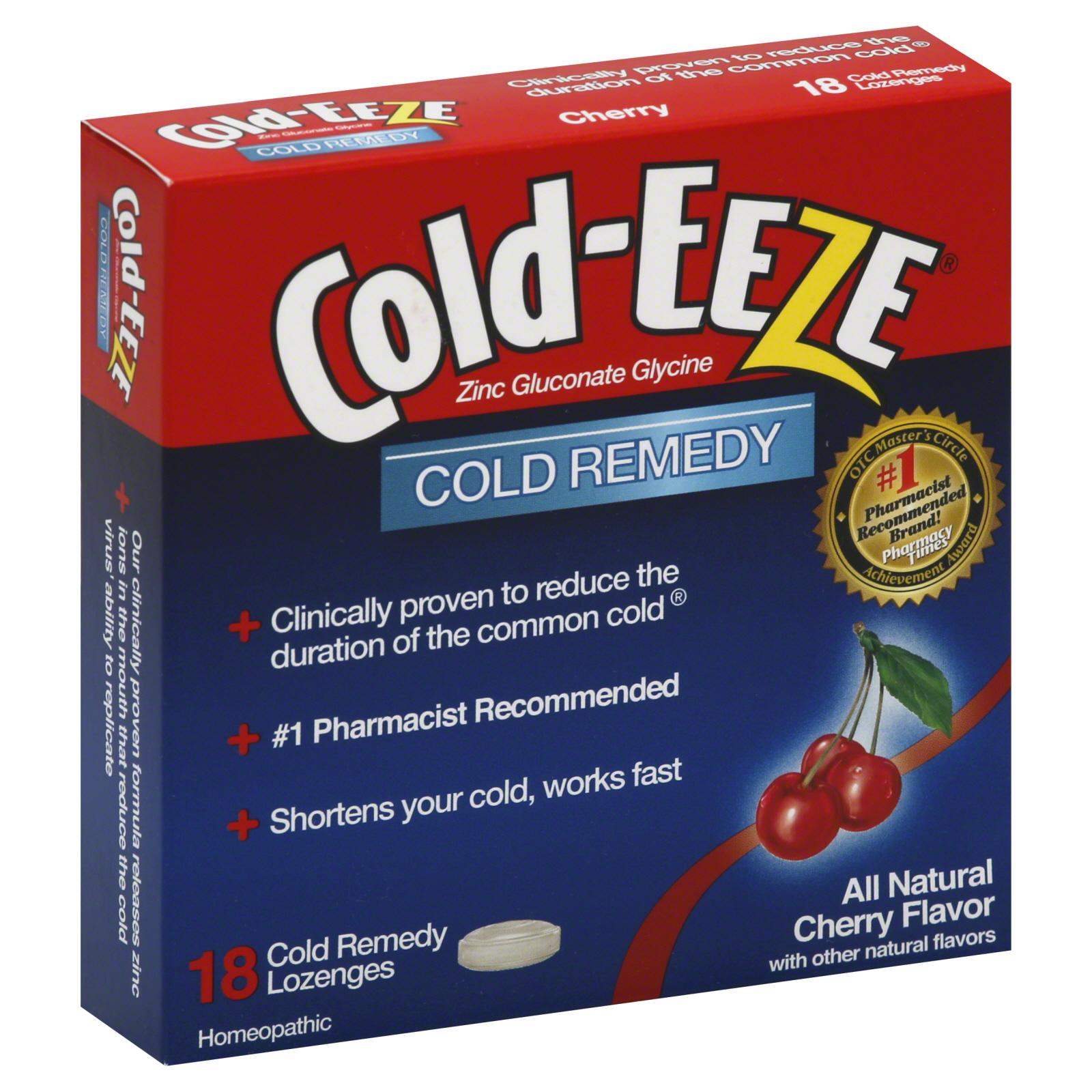 Cold-Eeze Cough Medicine Cough Suppressant Lozenges ...