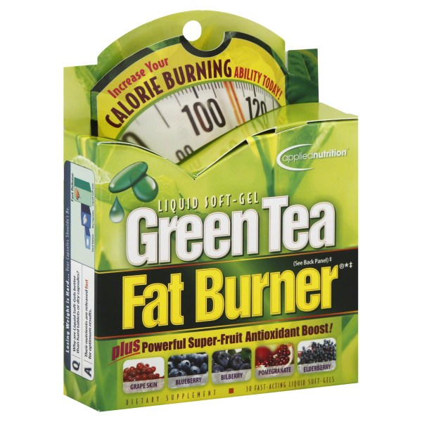 Upc 710363263010 - Applied Nutrition Dual Action Green Tea Fat Burner Softgels 30 Count