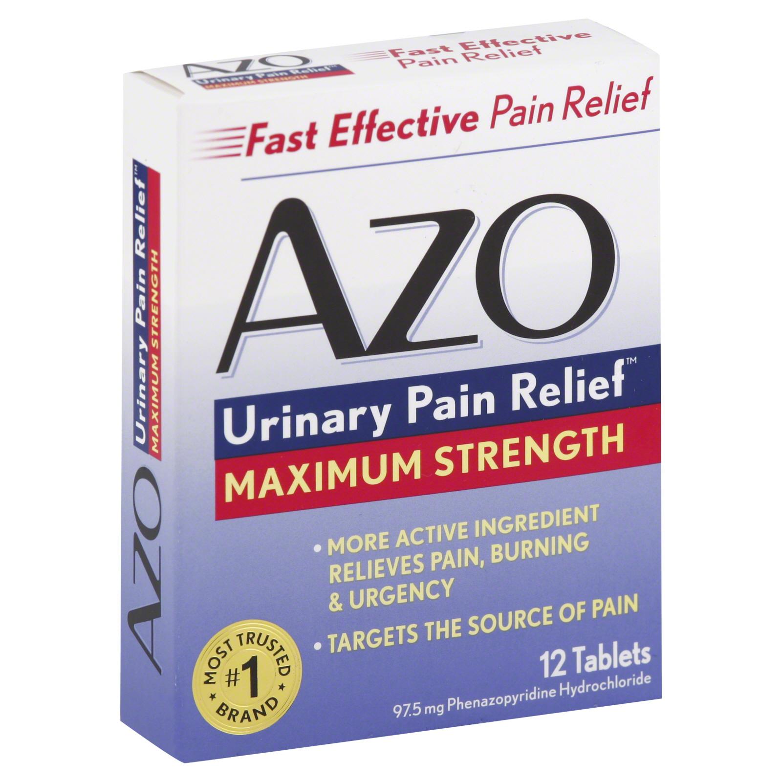 UPC 787651122533 - Azo Urinary Pain Relief Maximum ...