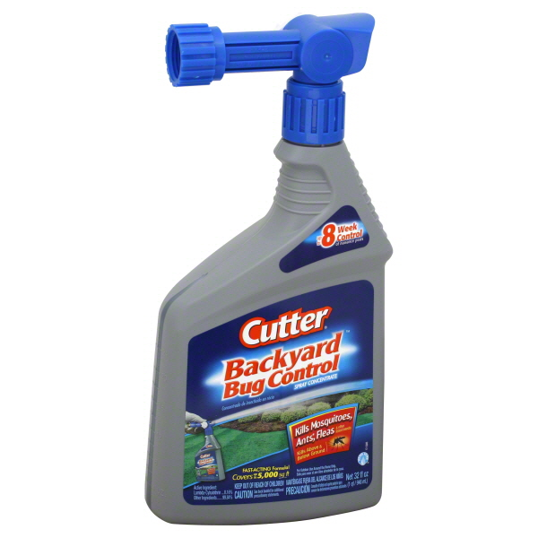 Cutter Backyard Bug Control Spray Concentrate, Water Based