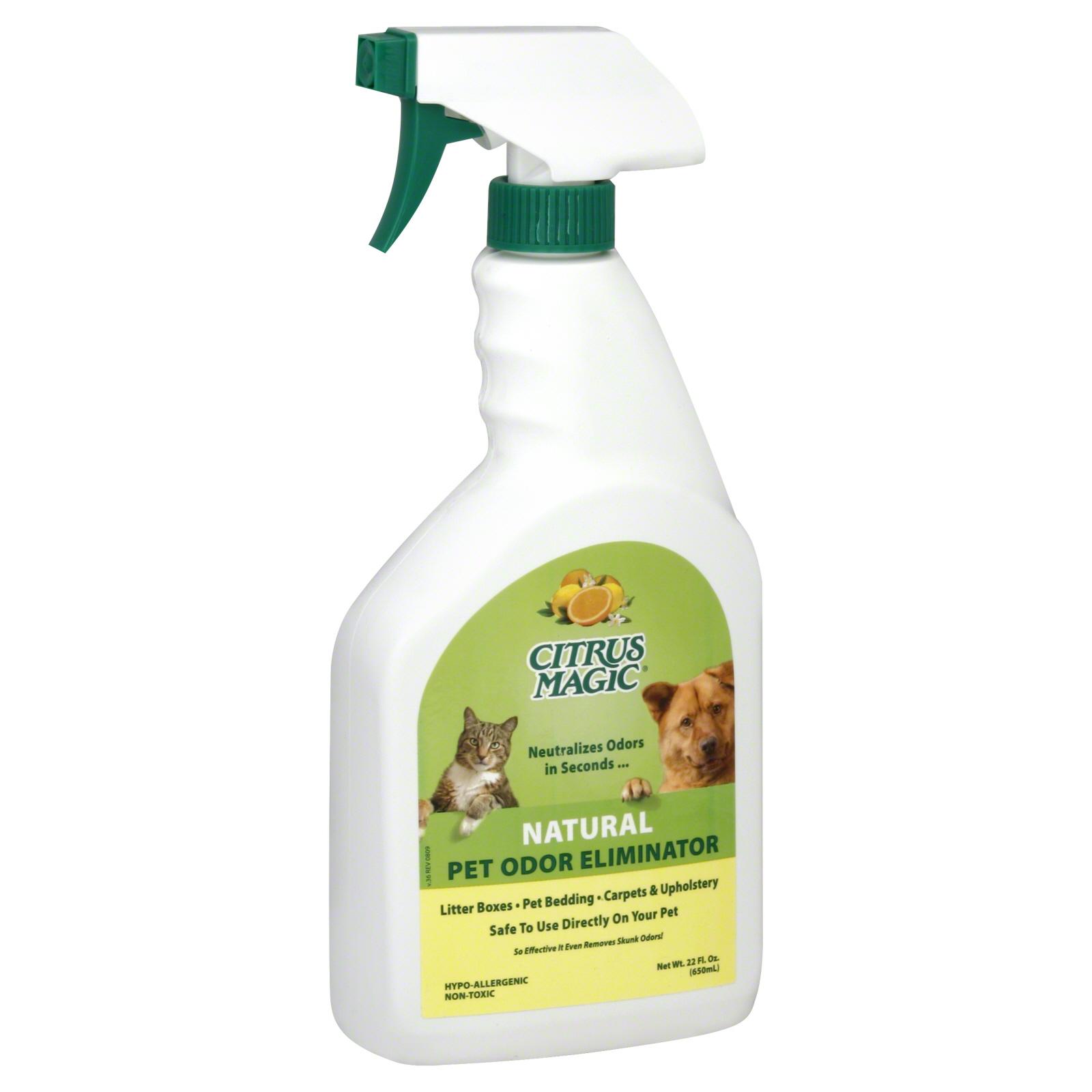 natural sofa deodorizer rounded table citrus magic odor eliminator pet 22 fl oz 650 ml