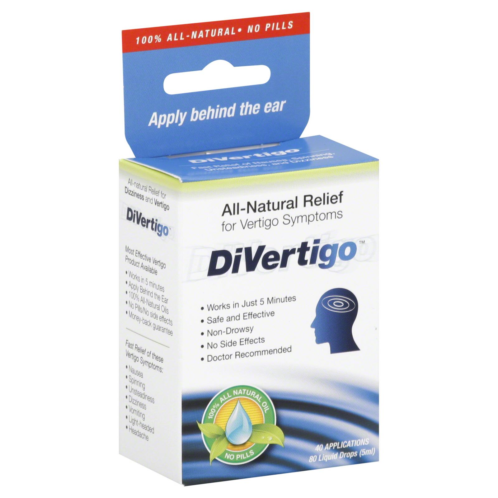 DiVertigo DiVertigo All Natural Relief for Vertigo ...