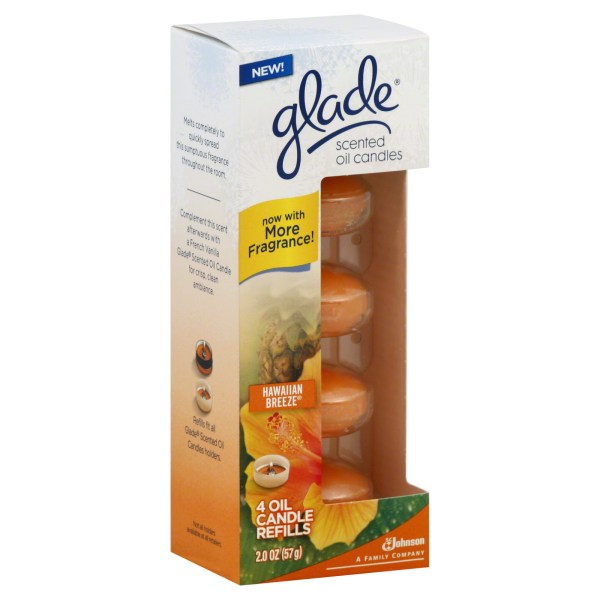 Glade Scented Oil Candle Refills