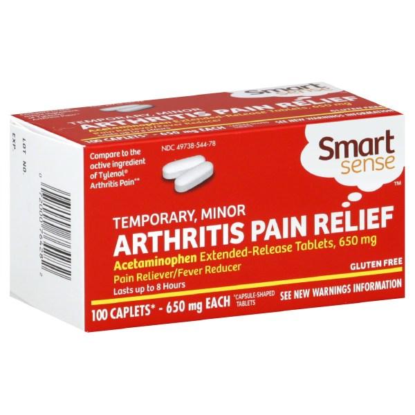 Tylenol Arthritis Pain Tabs 650 Mg