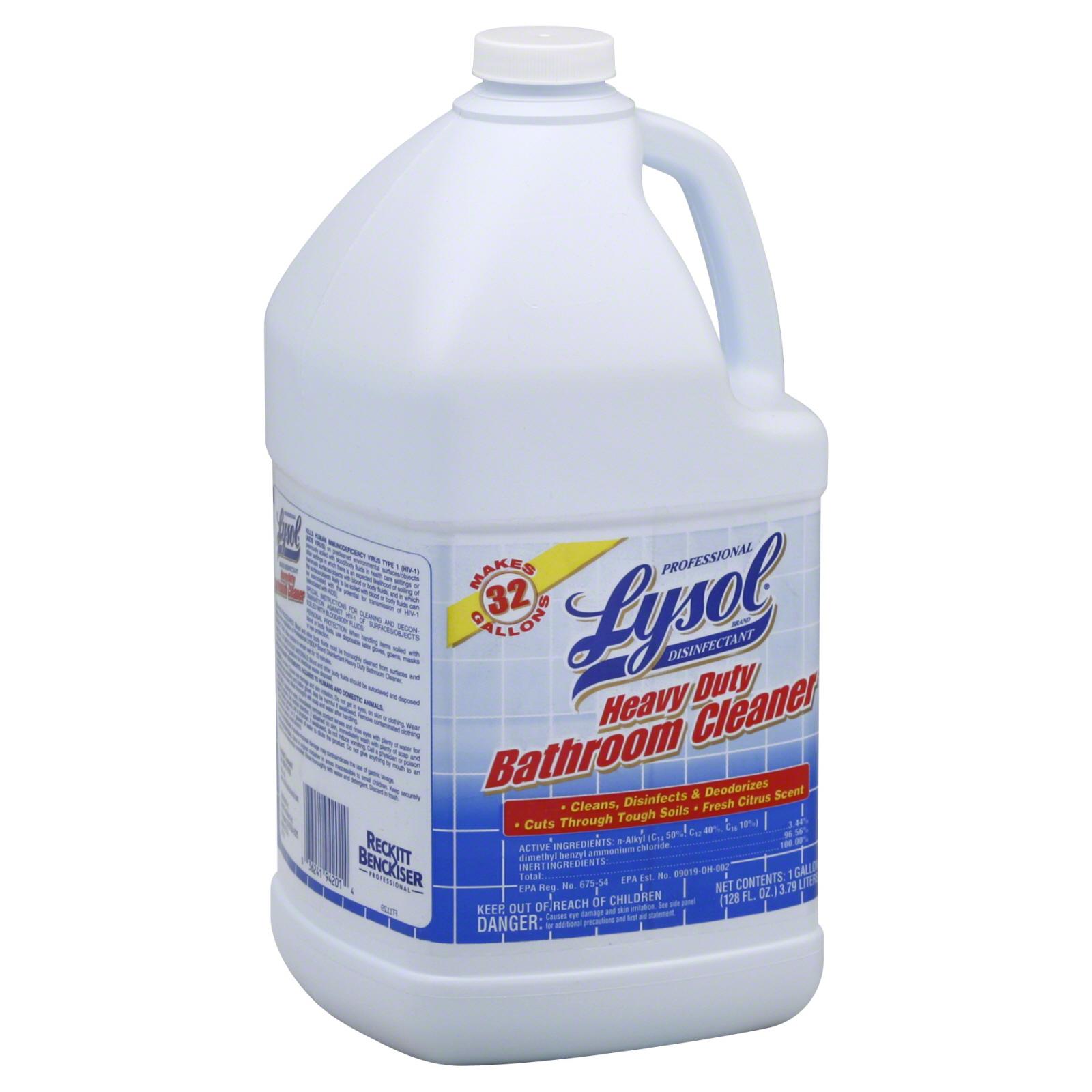 Lysol Professional Bathroom Cleaner Heavy Duty 1 gl 128
