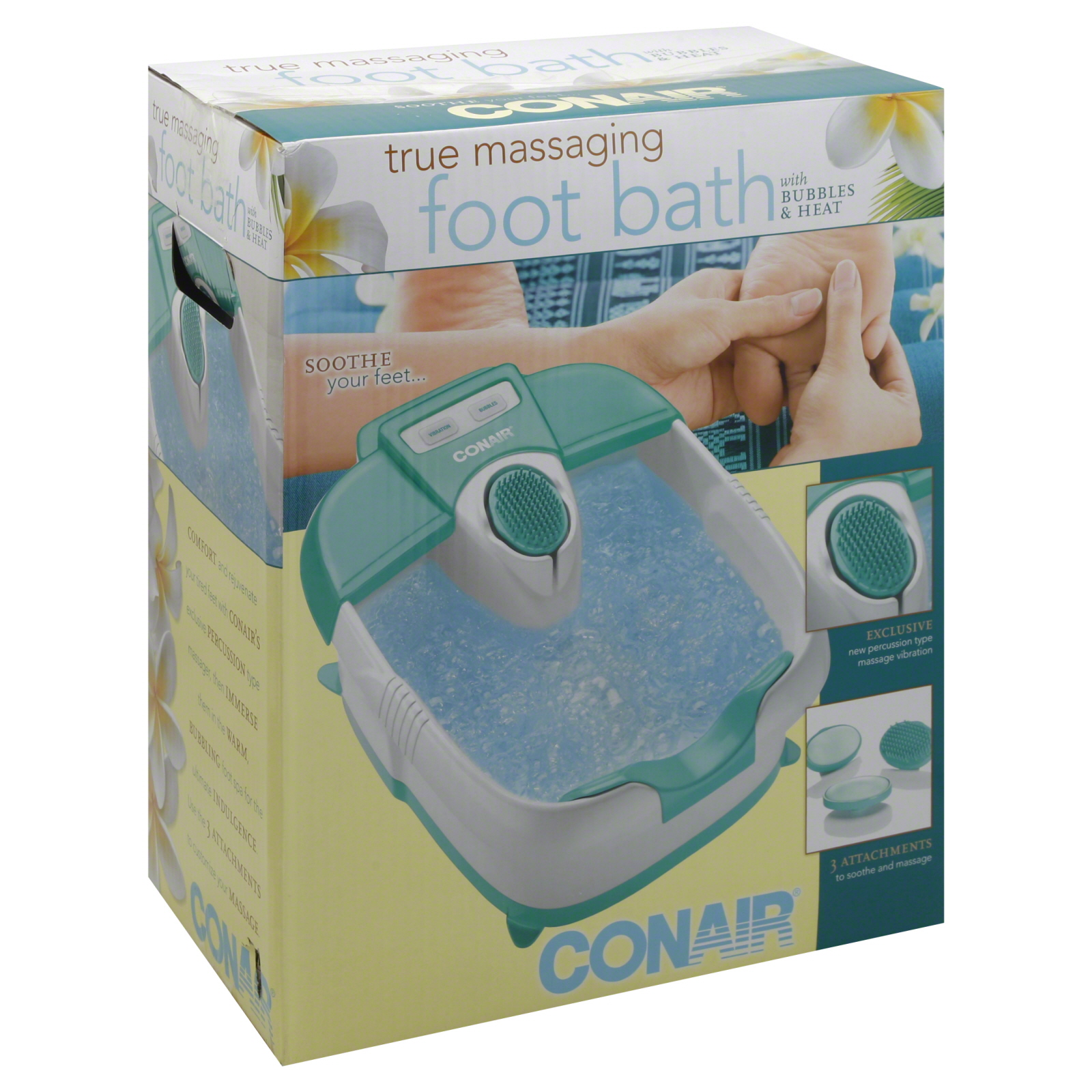 Conair Foot Spa With Massage Bubbles & Heat