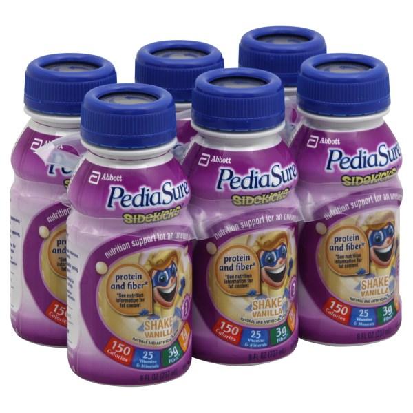 Pediasure Sidekicks Vanilla Shake 48 oz Shop Your Way