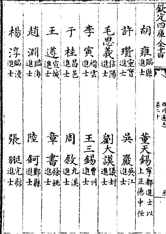 影印古籍資料