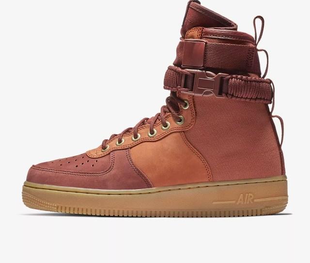 Nike Sf Air Force 1 Premium Mens Shoe