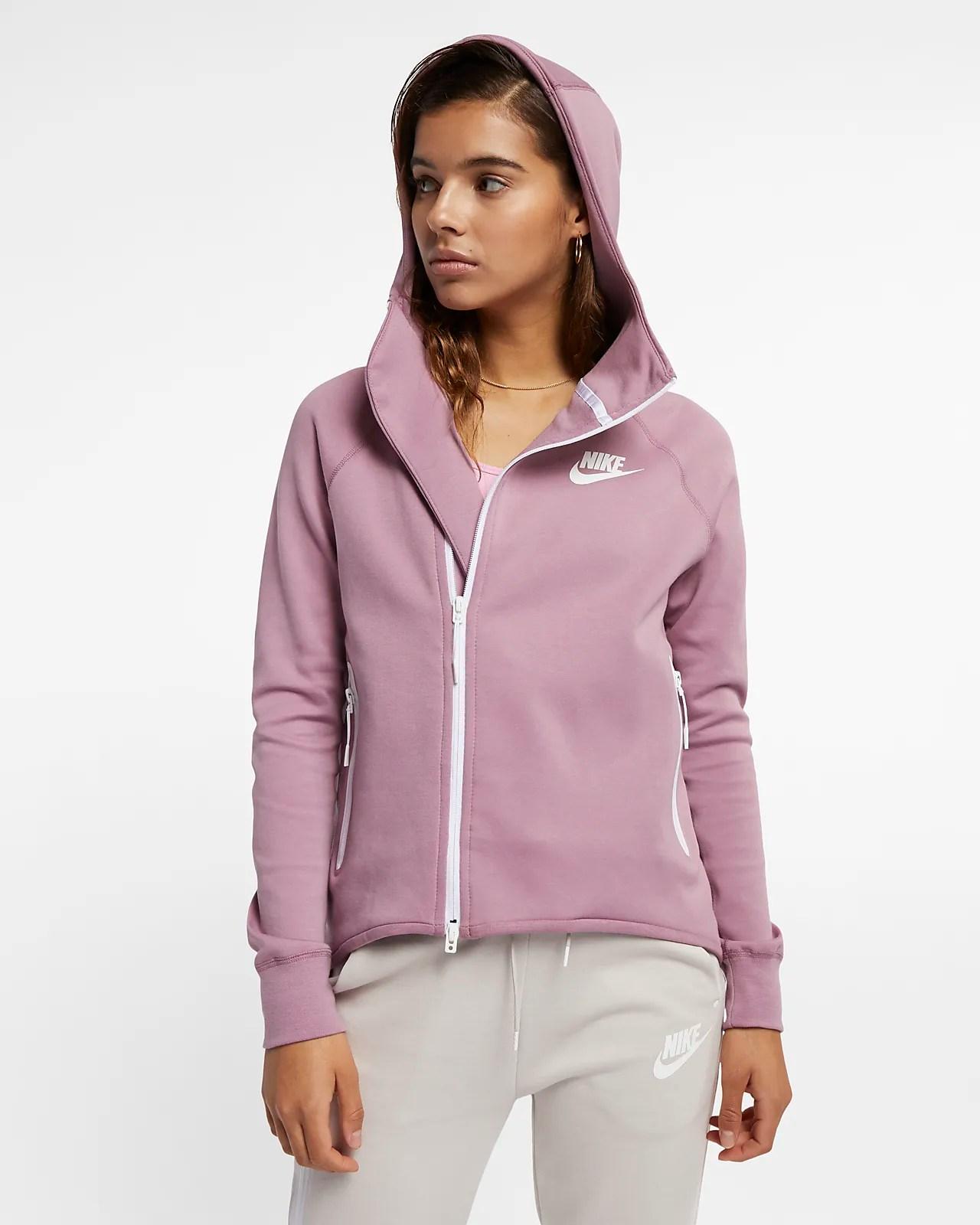 Nike Sportswear Tech Fleece 女子全長拉鏈開襟外套-耐克(Nike)中國官網