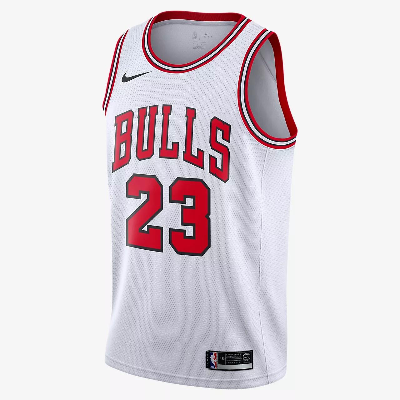 Michael Jordan Bulls Association Edition Nike NBA Swingman 球衣。Nike TW