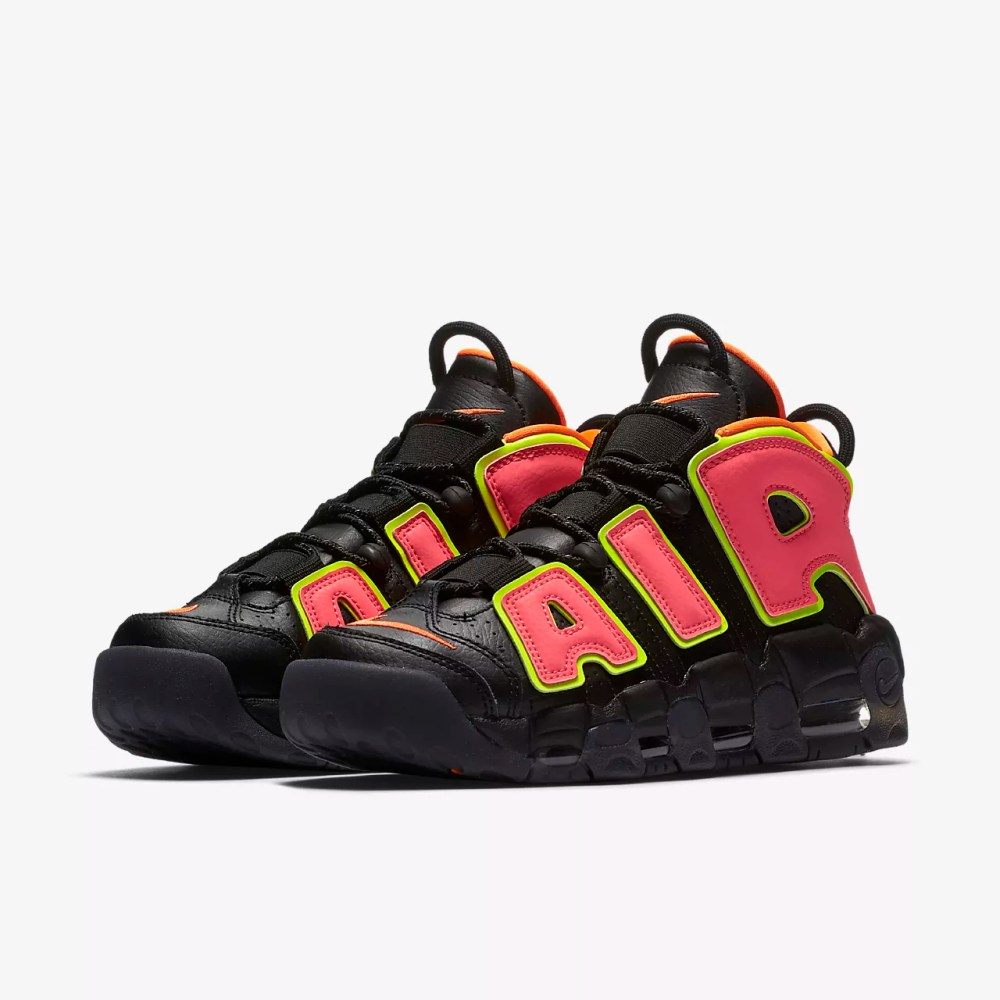 Image result for nike air more uptempo black