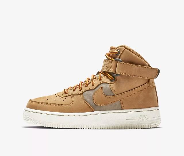 Nike Air Force 1 High Premium Big Kids Shoe