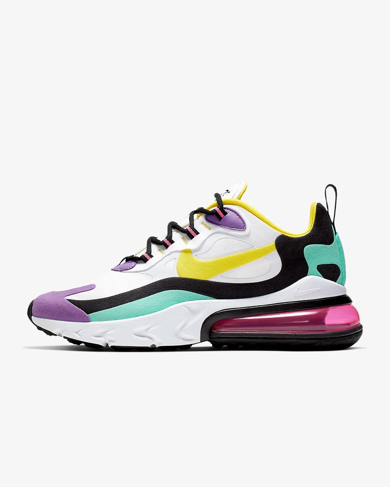 Nike Air Max 270 React (Geometric Abstract) 女鞋. Nike TW