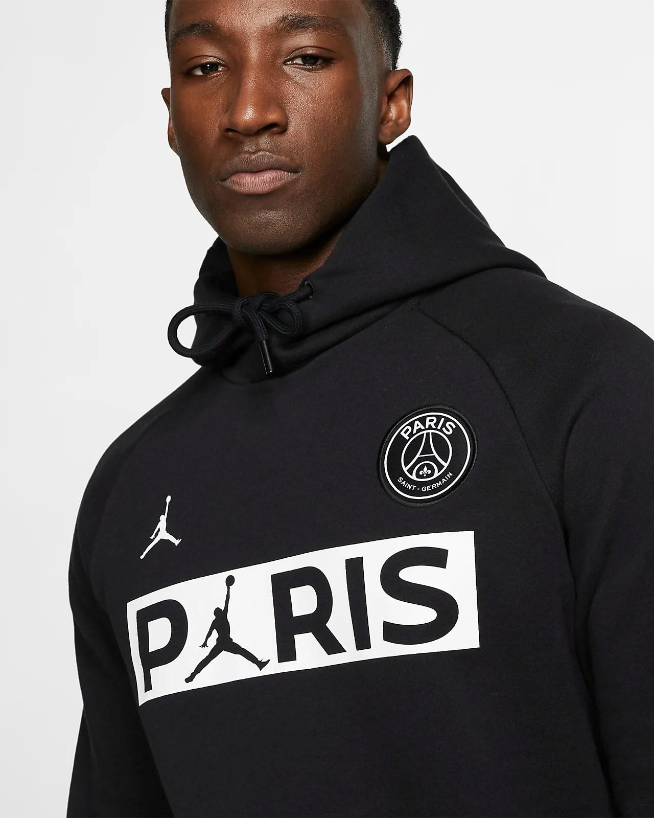 Nike Paris Saint Germain x Jordan Jumpman Herren Hoodie in