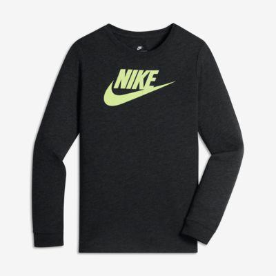 Nike Sportswear Dry Futura 大童(男孩)長袖T恤-耐克(Nike)中國官網