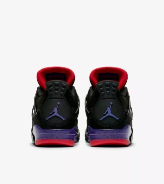 Air Jordan 4 'Black & Court Purple' Release Date