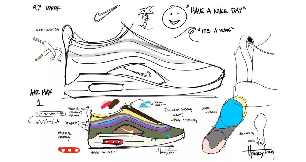 medium resolution of behind the design air max 1 97 sean wotherspoon