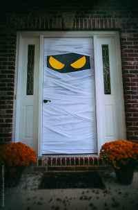 Spooky Halloween Door Dressed As Mummy by Sean Locke ...