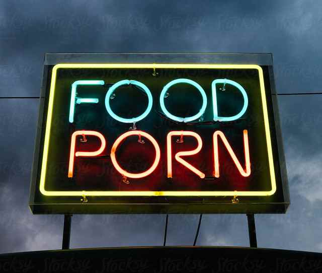 Food Porn Sign By Sam Burton For Stocksy United