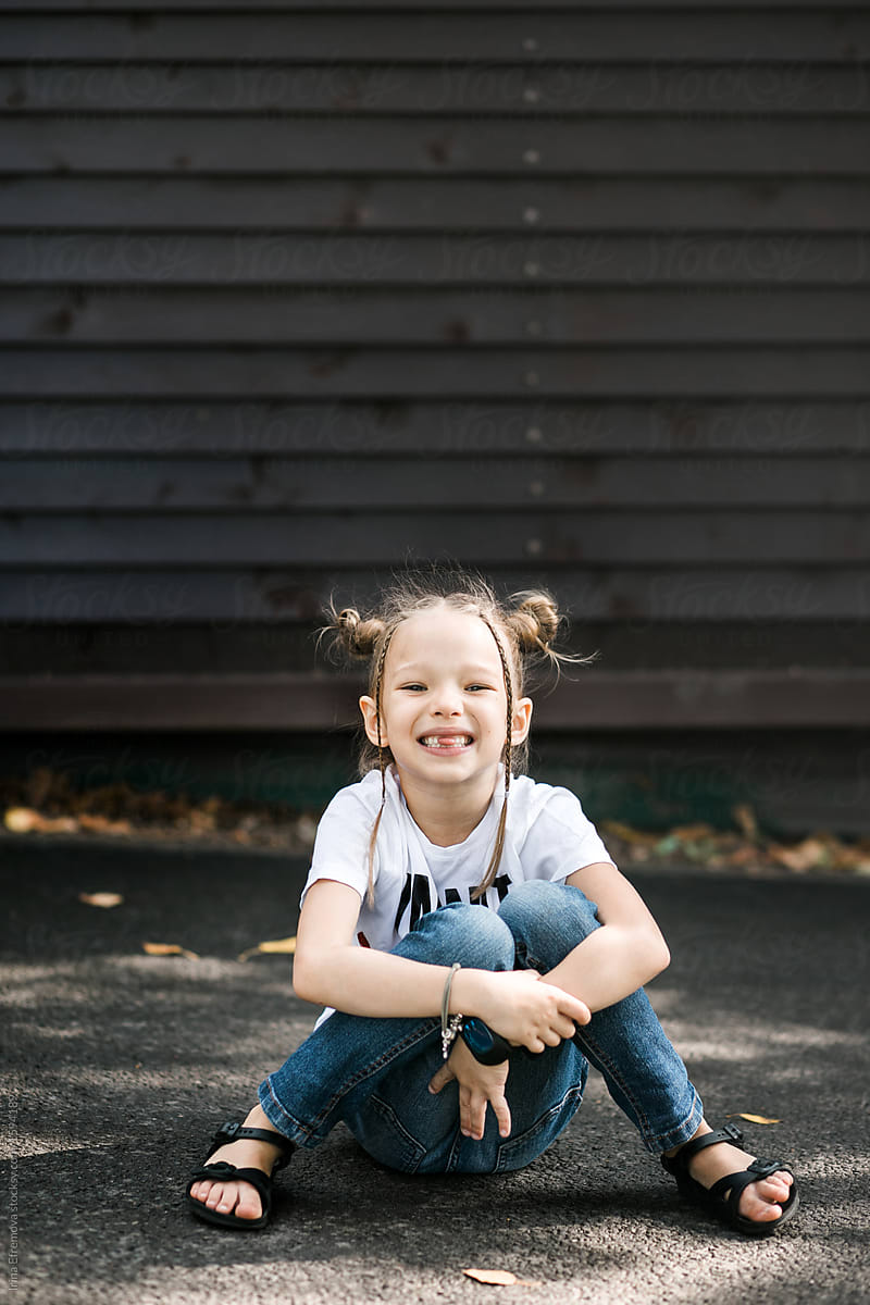 stock photo cute little