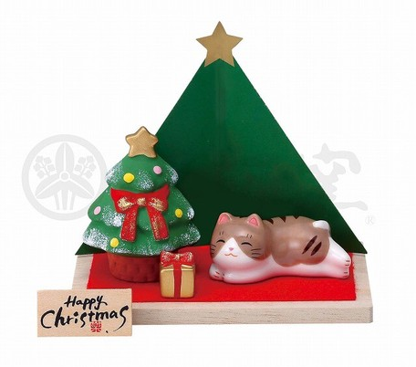 Christmas Fun Kinsai Christmas Decoration Tree Cat Export Japanese Products To The World At Wholesale Prices Super Delivery