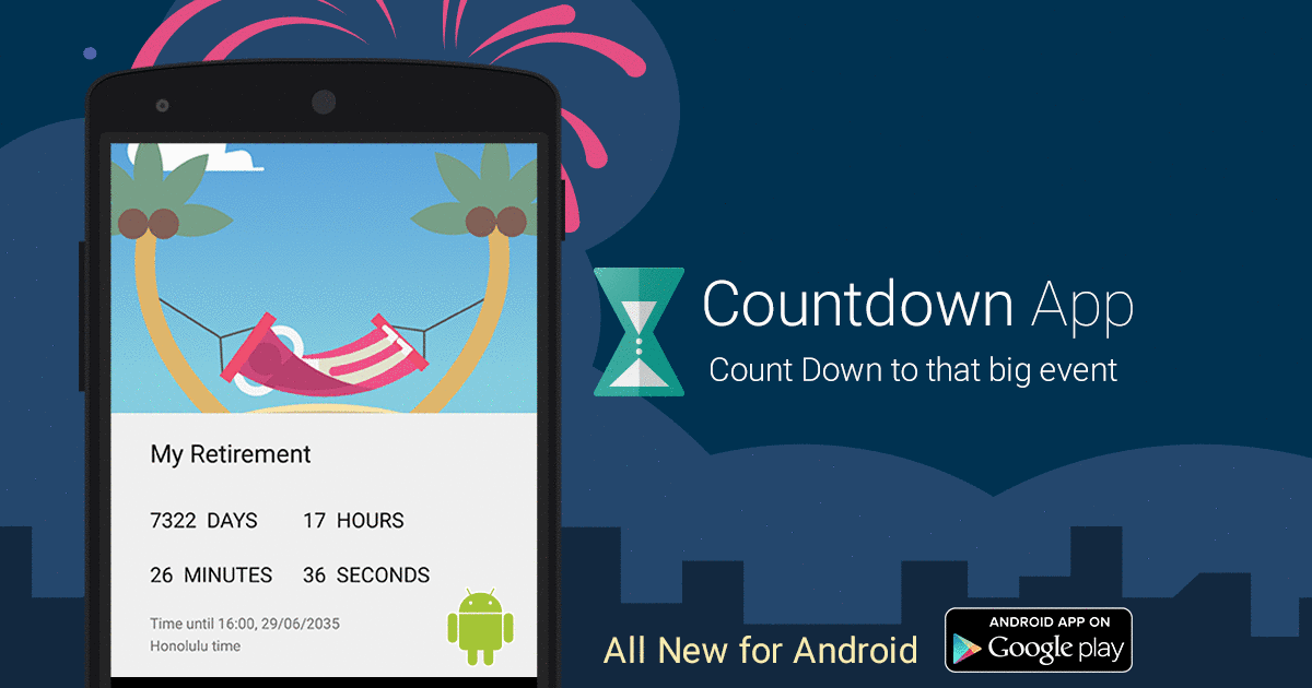 Countdown App for Android – Support