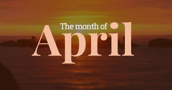 Image result for month of april