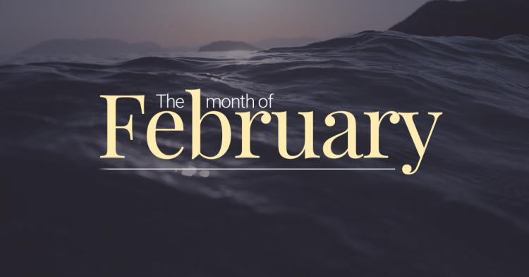 February Is the Second Month of The Year