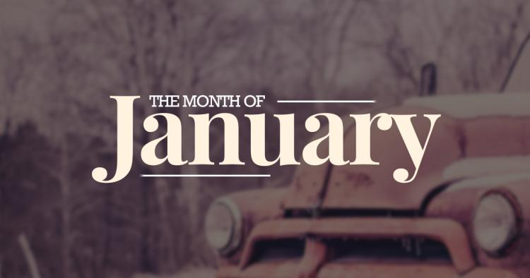 January – First Month of the Year