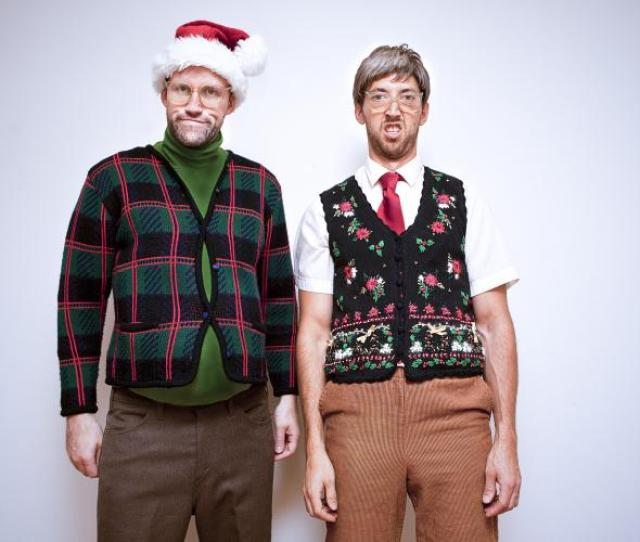 Ugly Sweater Day Encourages People To Wear Ugly Sweaters In Public With Pride For Charity Events