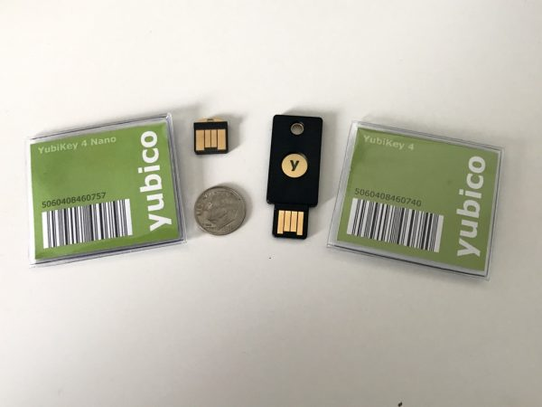 Yubico YubiKey 4 hardware security key review  The Gadgeteer