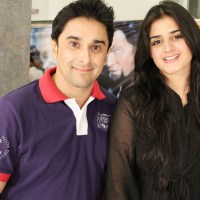 Mani and Hira Mani Tv actors