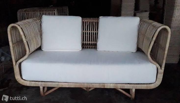 Rattan Möbel Zürich Couch Polstermöbel Lounge Liege Ottomane Sofa
