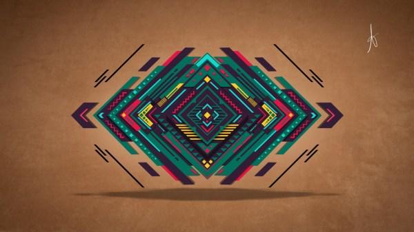 Wallpaper Drawing Colorful Illustration Digital Art