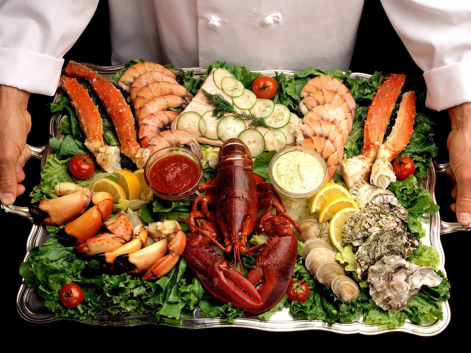 Fondos de pantalla  comida pescado Mariscos almuerzo