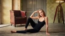 Wallpaper Sports Face Women Model Blonde Blue Eyes