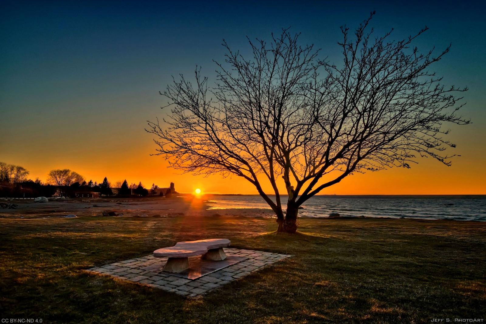 Papel de parede  luz solar rvores panorama Pr do sol