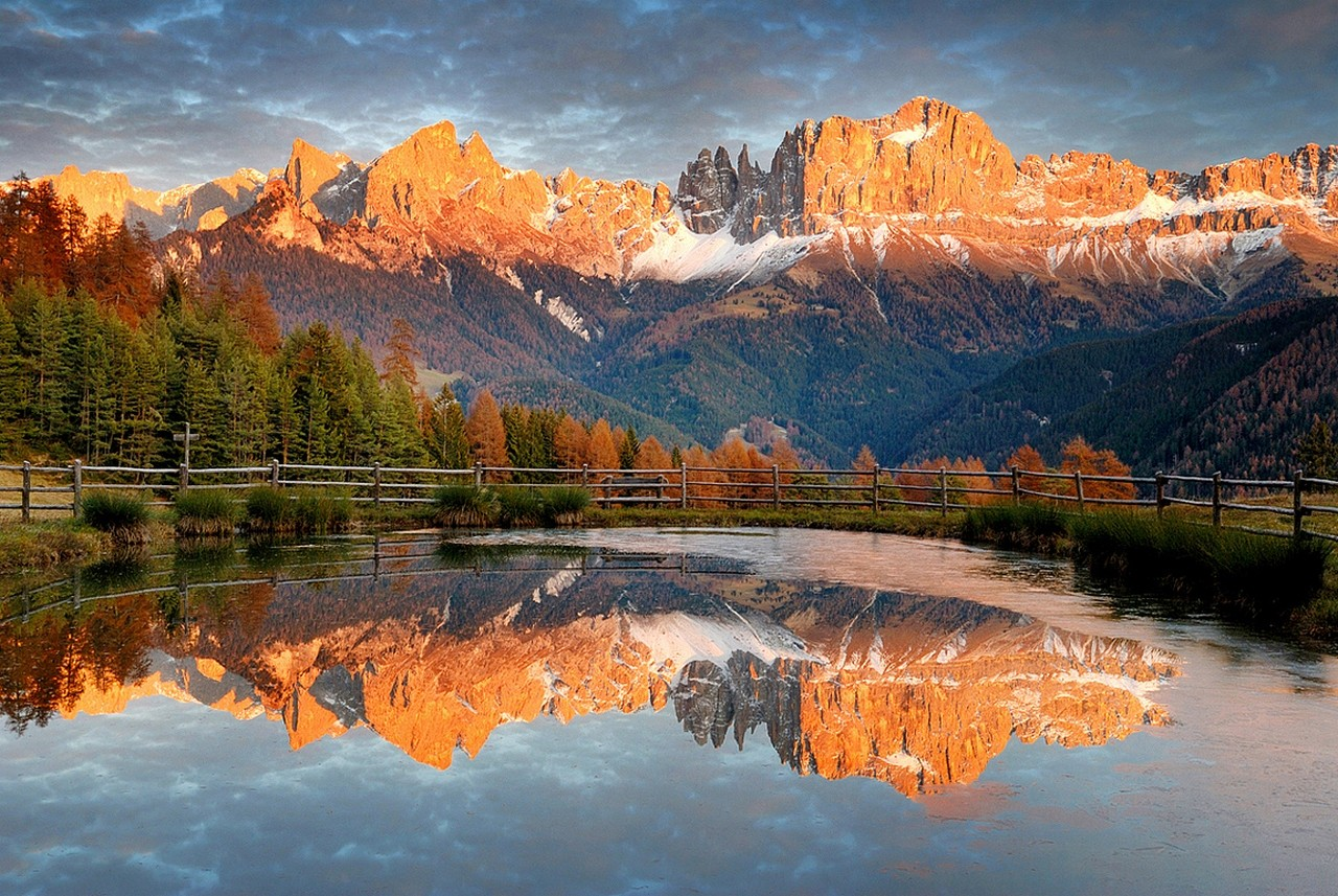 Hd Fall Wallpapers 1080p Fond D 233 Cran Paysage For 234 T Tomber Le Coucher Du