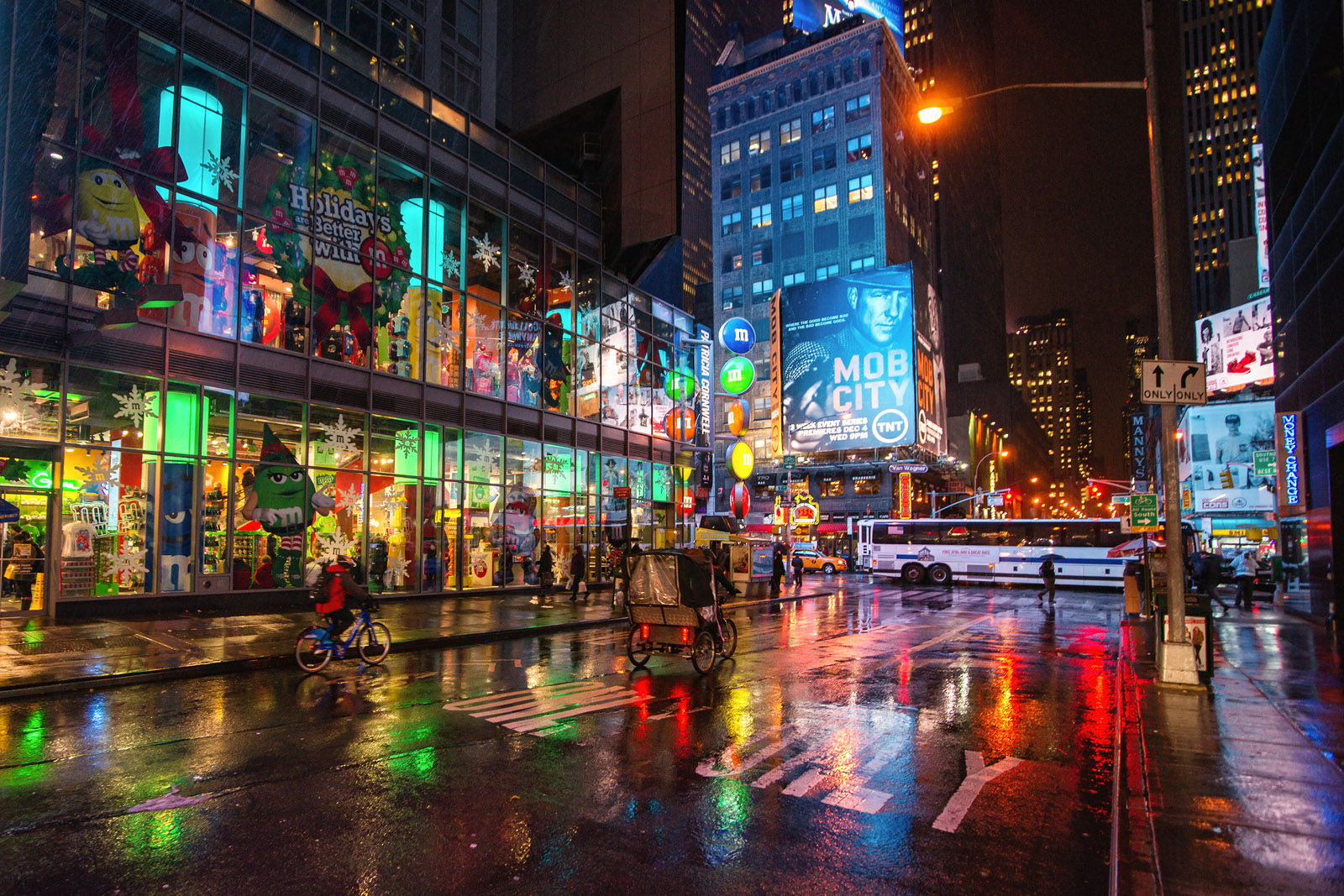 Rainy Fall Day Wallpaper Wallpaper Road Street New York City Nyc November
