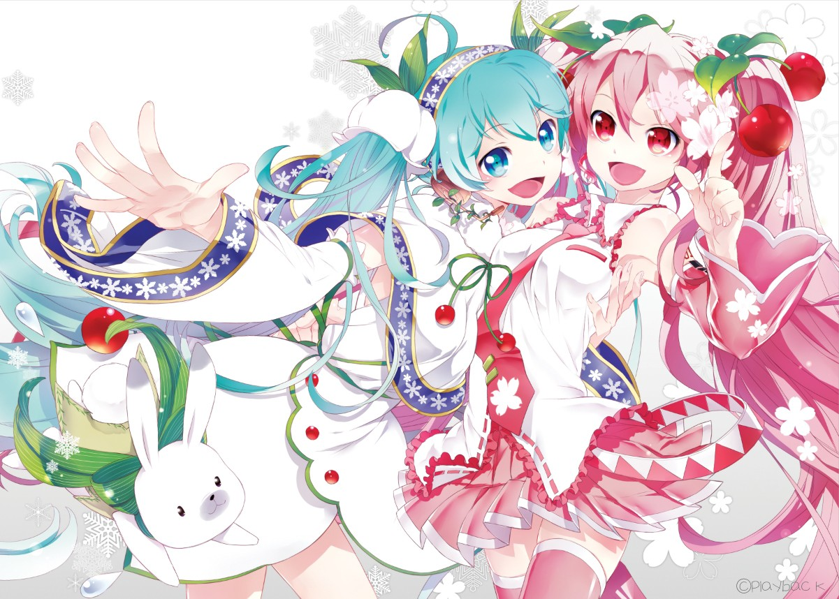 Beautiful Colorful Girls Anime Sakura Wallpaper Fondos De Pantalla Ilustraci 243 N Anime Chicas Anime