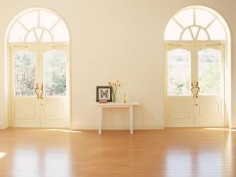 room interior living hall window doors door floor arch wood light molding hardwood hd flooring estate property roman system homes