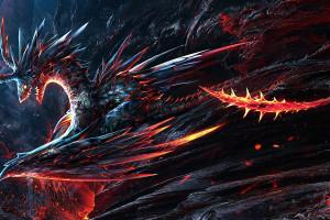 Fire dragon Wallpaper & HD Wallpapers WallHere
