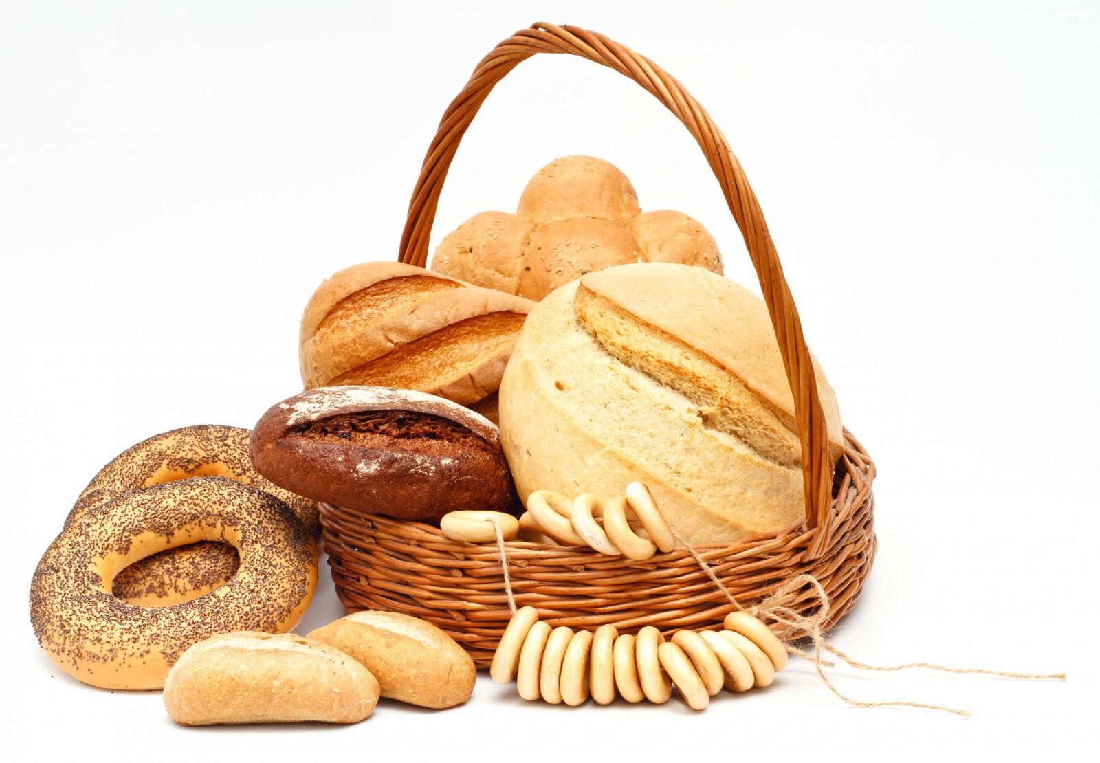 aliments pain fond blanc