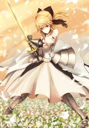 wallpaper illustration blonde